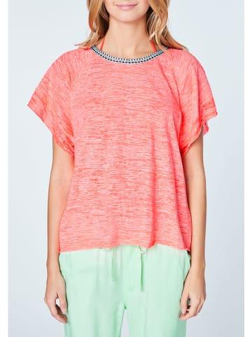 """Chiemsee Koszulka """"Scup"""" w kolorze koralowym"""