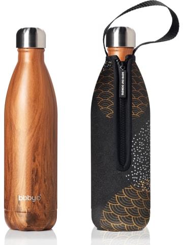 """Bbbyo* Butelka """"Cele"""" w kolorze jasnobrązowo-antracytowym - 750 ml"""