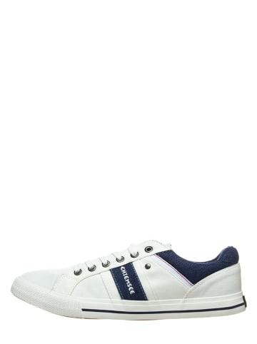 Chiemsee Sneakersy w kolorze biało-granatowym