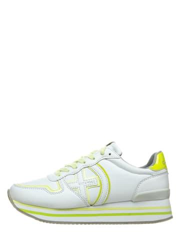Chiemsee Sneakersy w kolorze biało-żółtym