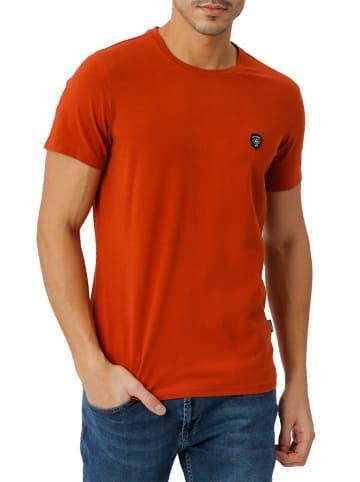 Galvanni T-shirt w kolorze pomarańczowym