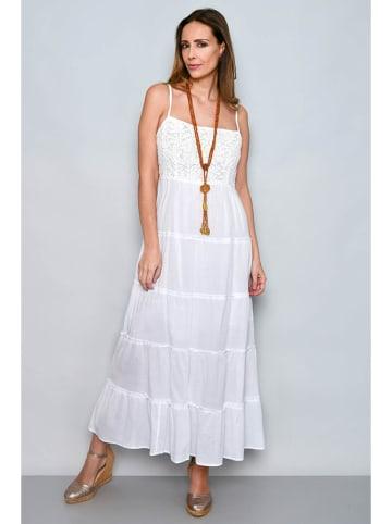 Tarifa Sukienka w kolorze białym