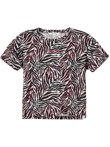 Garcia Koszulka w kolorze czarno-białym