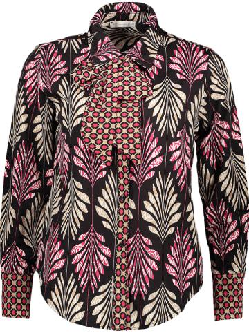 Rose Fashion & Swimwear Bluse in Schwarz/ Bunt
