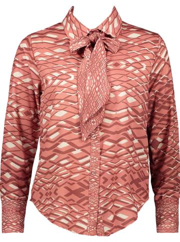 Rose Fashion & Swimwear Bluse in Rosa