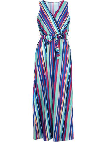 Rose Fashion & Swimwear Jurk blauw/meerkleurig