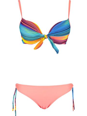 Rose Fashion & Swimwear Bikini blauw/meerkleurig