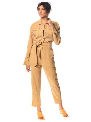 """100% Jeans Jumpsuit """"Gaby"""" beige"""