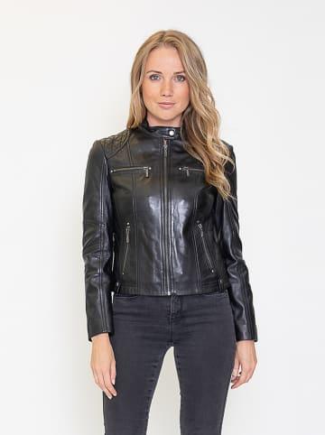 """Giovanni Leather Leren jas """"Melody"""" zwart"""