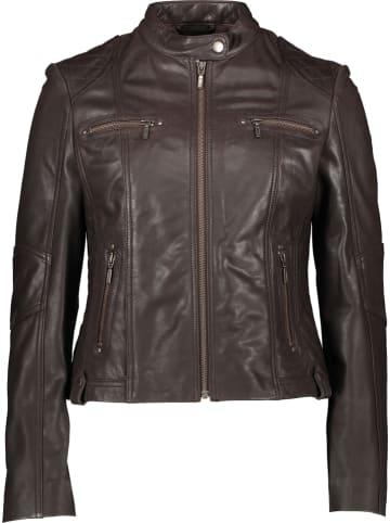 "Giovanni Leather Leren jas ""Melody"" bruin"