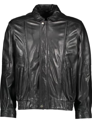 """Giovanni Leather Leren jas """"Uberto"""" zwart"""