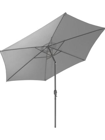 Gartenfreude Parasol grijs - (H)215 x Ø 200 cm