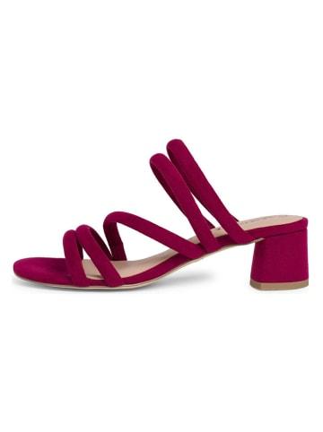 Tamaris Slippers rood