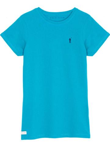 Polo Club Koszulka w kolorze turkusowym