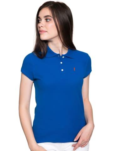 Polo Club Poloshirt blauw