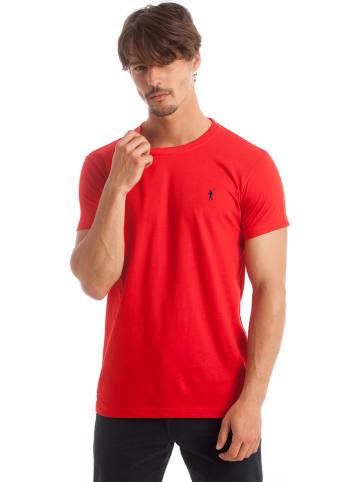 Polo Club Koszulka w kolorze czerwonym