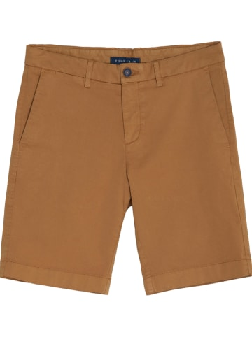 Polo Club Short - classic fit - lichtbruin