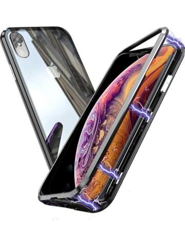 SWEET ACCESS Full body case voor iPhone Xs Max zwart