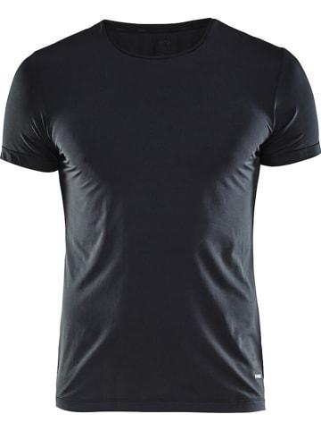 """Craft Koszulka sportowa """"Essential"""" w kolorze czarnym"""