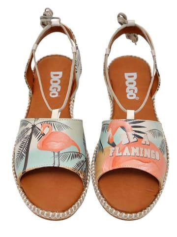 "Dogo Sandalen ""Be A Flamingo"" lichtroze/lichtblauw"