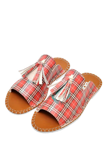 """Dogo Slippers """"Just Cool"""" rood"""