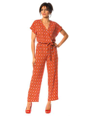 "Saint Germain Paris Jumpsuit ""Natacha"" oranje"