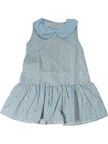 Deux ans de vacances Sukienka w kolorze błękitnym