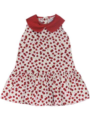 Deux ans de vacances Sukienka w kolorze czerwono-białym