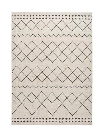 Atticgo Laagpolig tapijt wit/meerkleurig