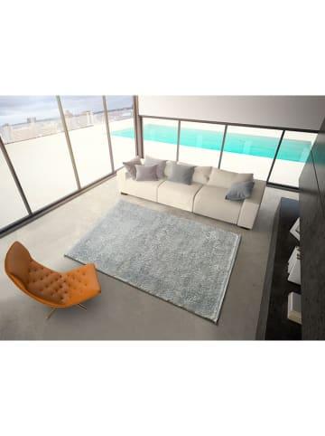 Atticgo Kurzflor-Teppich in Silber