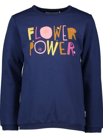 Lamino Sweatshirt donkerblauw