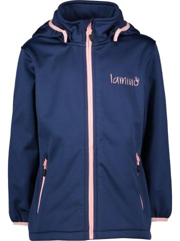 Lamino Softshelljas donkerblauw