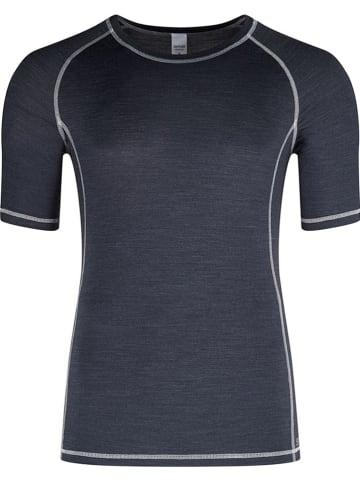 Skiny Trainingsshirt donkerblauw