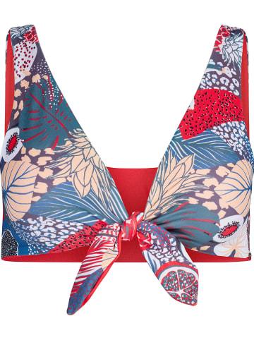 Skiny Bikinitop blauw/rood