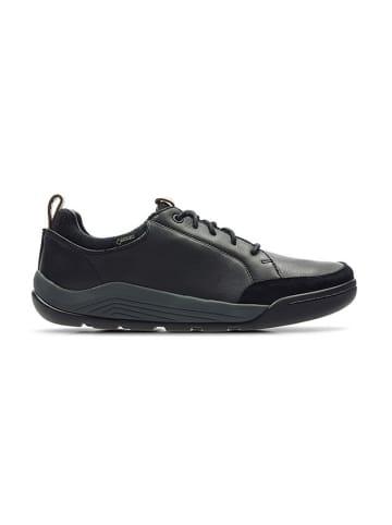 """Clarks Leren sneakers """"AshcombeBayGTX"""" zwart"""