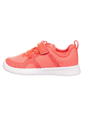 """Clarks Sneakers """"Ath Flux T"""" rood"""