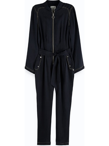 Scotch & Soda Jumpsuit zwart