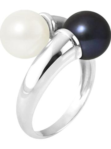 Pearline Srebrny pierścionek z perłami