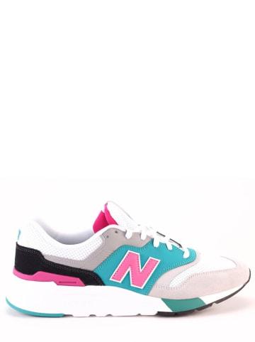 "New Balance Sneakers ""997"" turquoise/lichtgrijs"