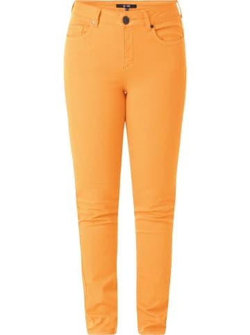 """Yest Spodnie """"Joy"""" w kolorze pomarańczowym"""