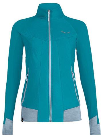 "Salewa Fleece vest ""Pedroc Hybrid Tirolwool Celliant"" turquoise"