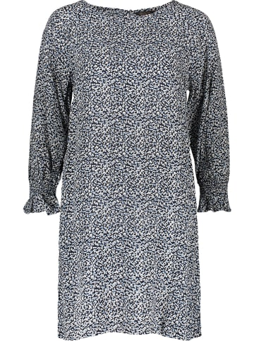 """Herrlicher Sukienka """"Isarelli"""" w kolorze granatowo-białym"""