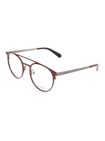Guess Lesebrille in Braun-Silber