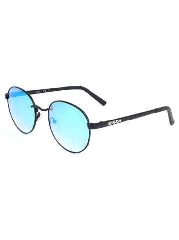 Guess Damen-Sonnenbrille in Schwarz/ Blau