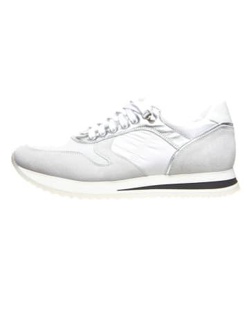 Cinque Sneakers wit/grijs/zilverkleurig