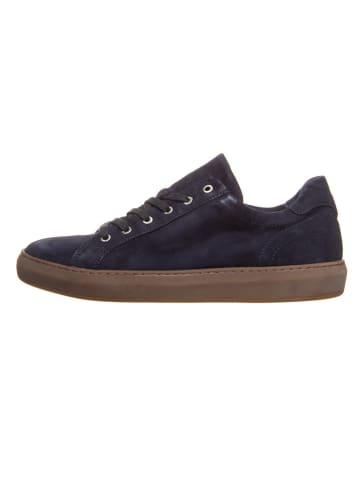 Cinque Leren sneakers donkerblauw