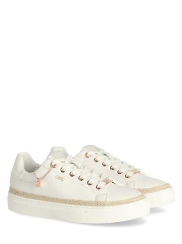 """Mexx Sneakersy """"Cis"""" w kolorze białym"""