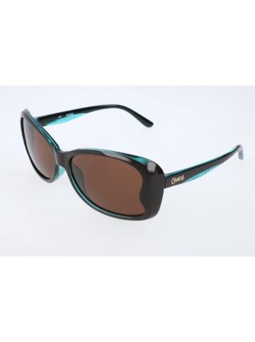 Guess Kinderzonnebril zwart/turquoise