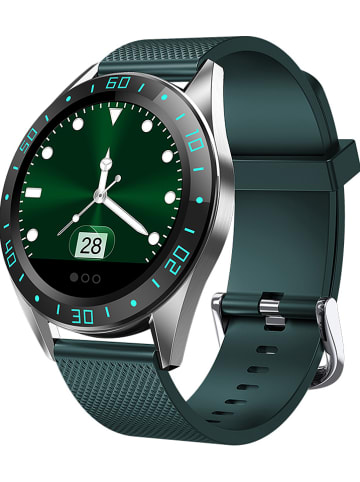 WHIPEARL Smartwatch w kolorze zielonym