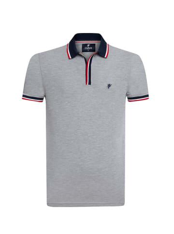 CULTURE Koszulka polo w kolorze szarym